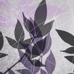 Vibrant Purple Leaf 3 by Cynthia Alvarez