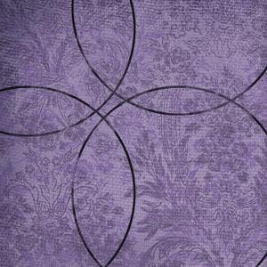 Vibrant Purple Square 4 by Cynthia Alvarez