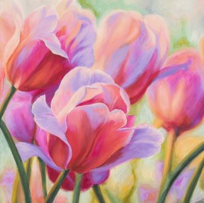 Tulips in Wonderland I by Cynthia Ann