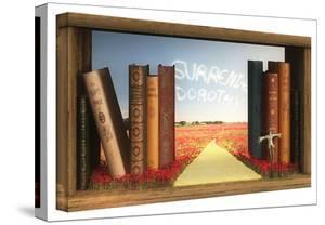 Cynthia Decker 'The Yellow Brick Road' Gallery Wrapped Canvas by Cynthia Decker
