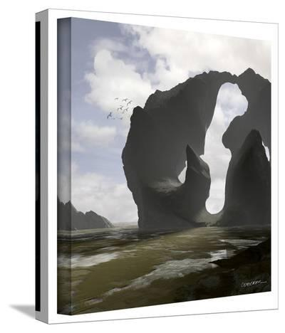 Cynthia Decker 'Low Tide' Gallery Wrapped Canvas-Cynthia Decker-Gallery Wrapped Canvas