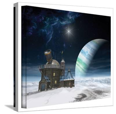 Cynthia Decker 'Observatory' Gallery Wrapped Canvas-Cynthia Decker-Gallery Wrapped Canvas