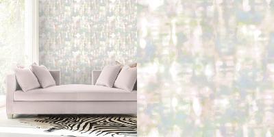 Cynthia Rowley's Prism Rainbow Sherbet Self-Adhesive Wallpaper-Cynthia Rowley-Home Accessories