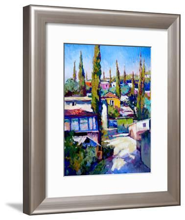 Cypress Trees-Suren Nersisyan-Framed Art Print