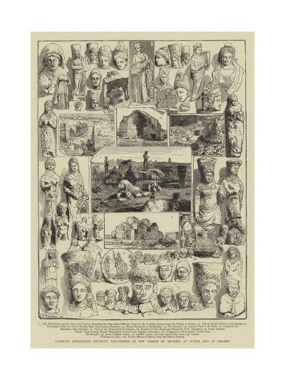 Cypriote Antiquities Recently Discovered at the Temple of Artemis, at Achna and at Salamis- Warry-Giclee Print