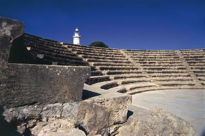 Cyprus, Paphos, Odeon, Amphitheatre--Giclee Print