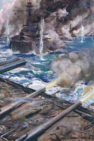 The Great Sea Battle by Cyrus Cuneo