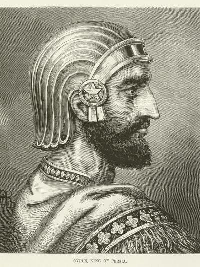 Cyrus, King of Persia--Giclee Print