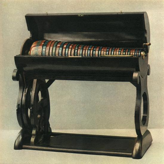 'Czech glass harmonica from the first half of the nineteenth century', 1948-Unknown-Giclee Print