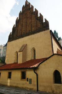 Czech Republic. Prague. Old New Synagogue. Gothic, 13th Century. Josefov (Jewish Quater)