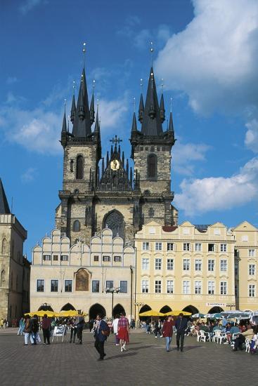 Czech Republic, Prague, Old Town--Photographic Print