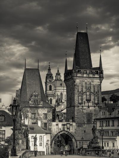 Czech Republic, Prague, Stare Mesto (Old Town), Little Quarter (Mala Strana) and Charles Bridge-Michele Falzone-Photographic Print