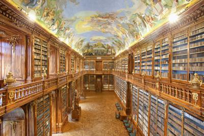 Czech Republic Prague, Strahov Monastery Library - the Philosophical Hall