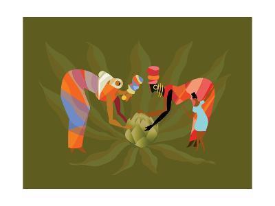 D 3 Iyff Crops-Sergio Baradat-Giclee Print