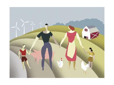 D 4 Iyff Farm-Sergio Baradat-Giclee Print