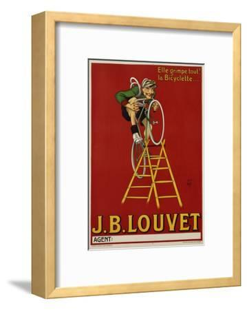 J.B. Louvet Bicycles Poster