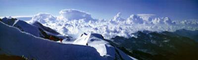 Monte Rosa - The Castore Ridge