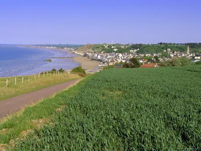 D-Day Beach, Arromanches, Normandie (Normandy), France, Europe-Gavin Hellier-Photographic Print
