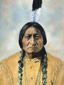 Sitting Bull (1834-1890) by D^ F^ Barry