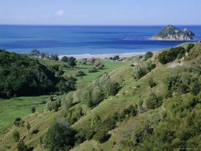 Beach and Coast, Tokomaru Bay, Gisborne, East Coast, North Island, New Zealand, Pacific