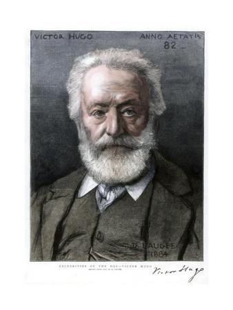 Victor Hugo, French Author, 1885
