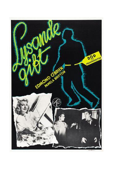 D.O.A., (aka Lysande Gift), Swedish Poster Art, 1950--Giclee Print
