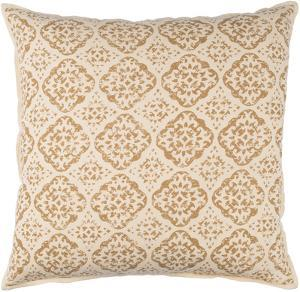 D'orsay 18 x 18 Pillow Cover - Beige