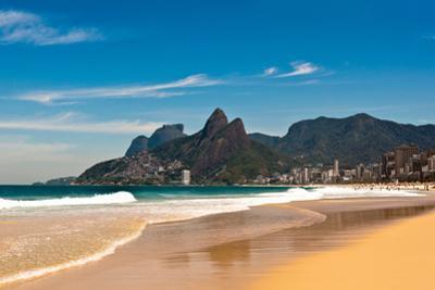 Ipanema Beach on Sunny Summer Day by dabldy