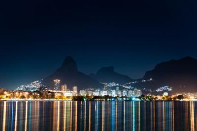Rio De Janeiro at Night by dabldy