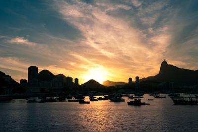 Rio De Janeiro Sunset above Botafogo by dabldy