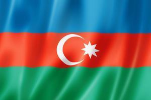 Azerbaijani Flag by daboost