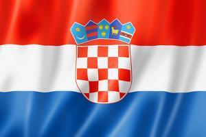 Croatian Flag by daboost