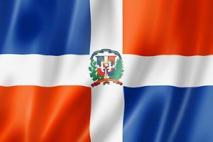 Dominican Republic Flag by daboost