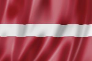 Latvian Flag by daboost