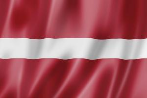Latvian Flag by daboost