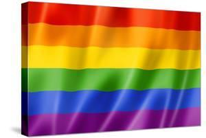 Rainbow Gay Pride Flag by daboost