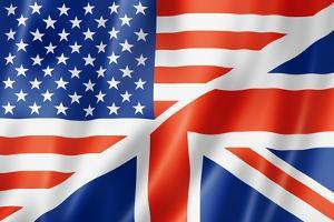 United States And British Flag by daboost