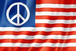 United States Peace Flag by daboost