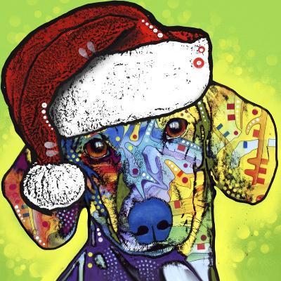 Dachshund Christmas-Dean Russo-Giclee Print