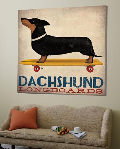 Dachshund Longboards-Ryan Fowler-Loft Art