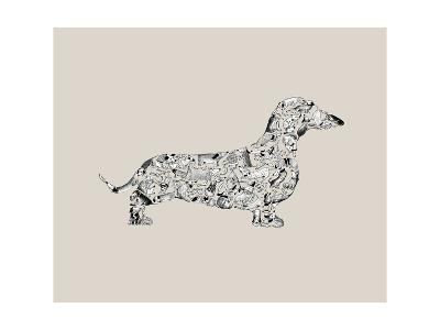 Dachshund-Louise Tate-Giclee Print