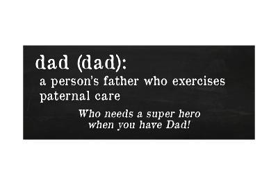 Dad Definition-Anna Quach-Art Print