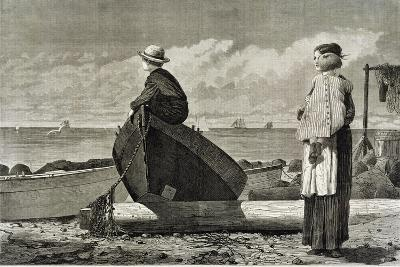 Dad's Coming, 1873-Winslow Homer-Giclee Print