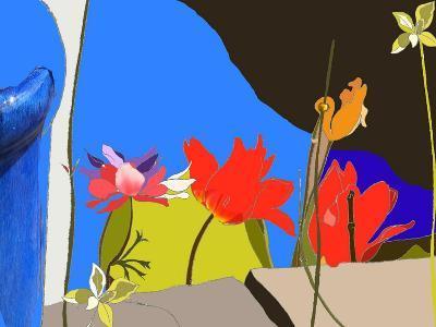 Dad's Garden-Anna Platts-Giclee Print