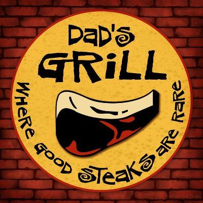 Dad's Grill-Kate Ward Thacker-Giclee Print