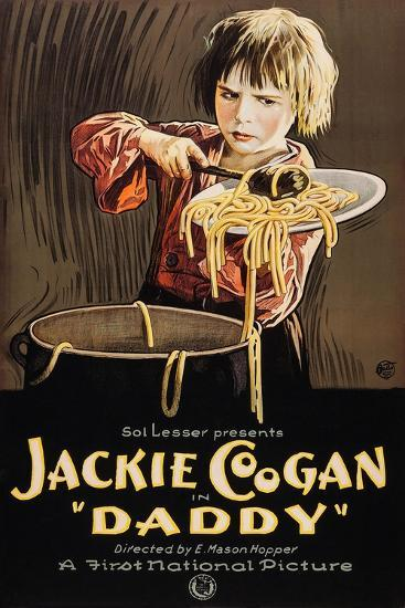 Daddy, Jackie Coogan, 1923--Art Print