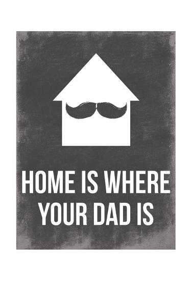Dads Home-Jace Grey-Art Print