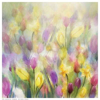 Daffodils and Tulips-N^ Pommingmas-Art Print