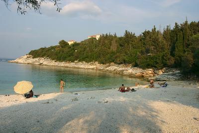 Dafnoudi Beach Near Fiscardo, Kefalonia, Greece-Peter Thompson-Photographic Print