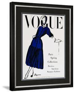 Vogue Cover - April 1947 by Dagmar